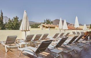 Солнечная терраса Hotel Coral Compostela Beach Golf