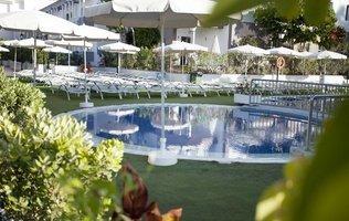 Сад Hotel Coral Compostela Beach Golf