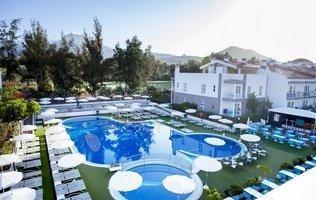 Панорамный вид Hotel Coral Compostela Beach Golf