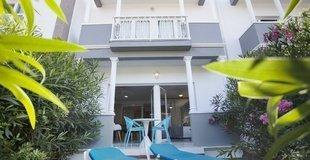 АПАРТАМЕНТЫ А1 С СОБСТВЕННЫМ САДИКОМ Hotel Coral Compostela Beach Golf